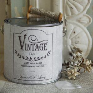 Vintage Paint - Muurverf / Krijtverf Mat - Antique Cream - 2,5 liter
