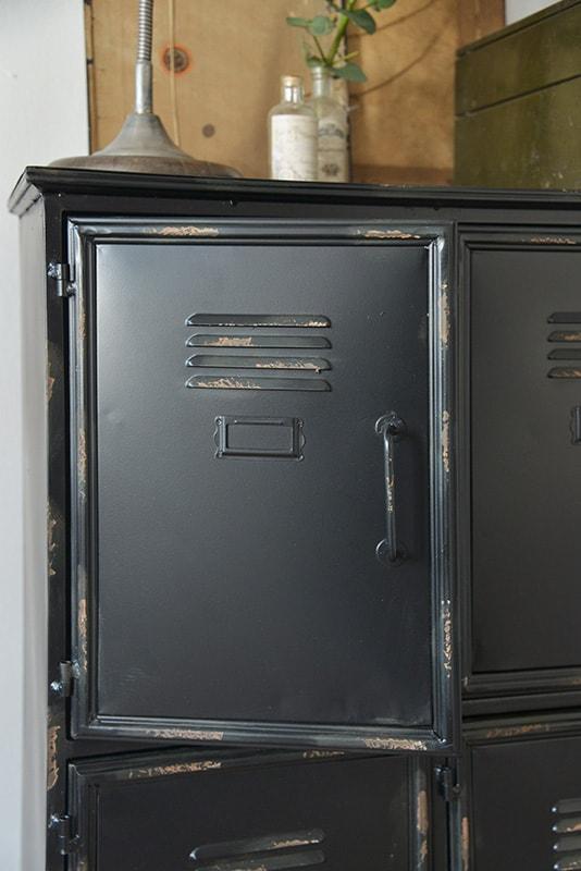 Industriele Lockerkast Kopen.Industriele Zwarte Kast Metalen Zwarte Lockerkast 90x125 Cm My