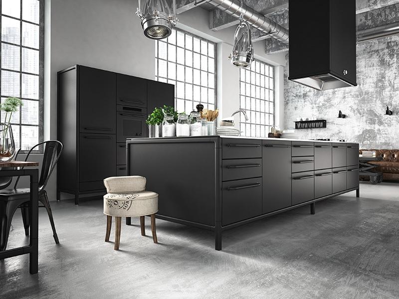 Betonlook-vloer-betonlook-keuken-industriele-vloer-industriele-keuken