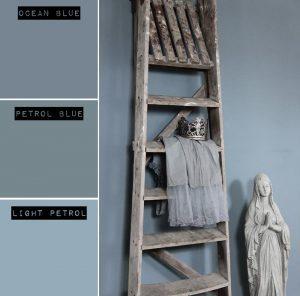 Blauwe-Krijtverf-Muur-Matte-Muurverf-Sfeerfoto