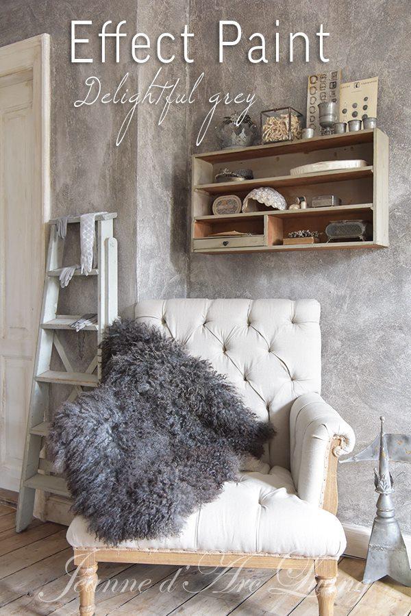 Betonlook-verf-betonlook-muur-betonlook-woonkamer-Effect-Paint-Grey-Kleur