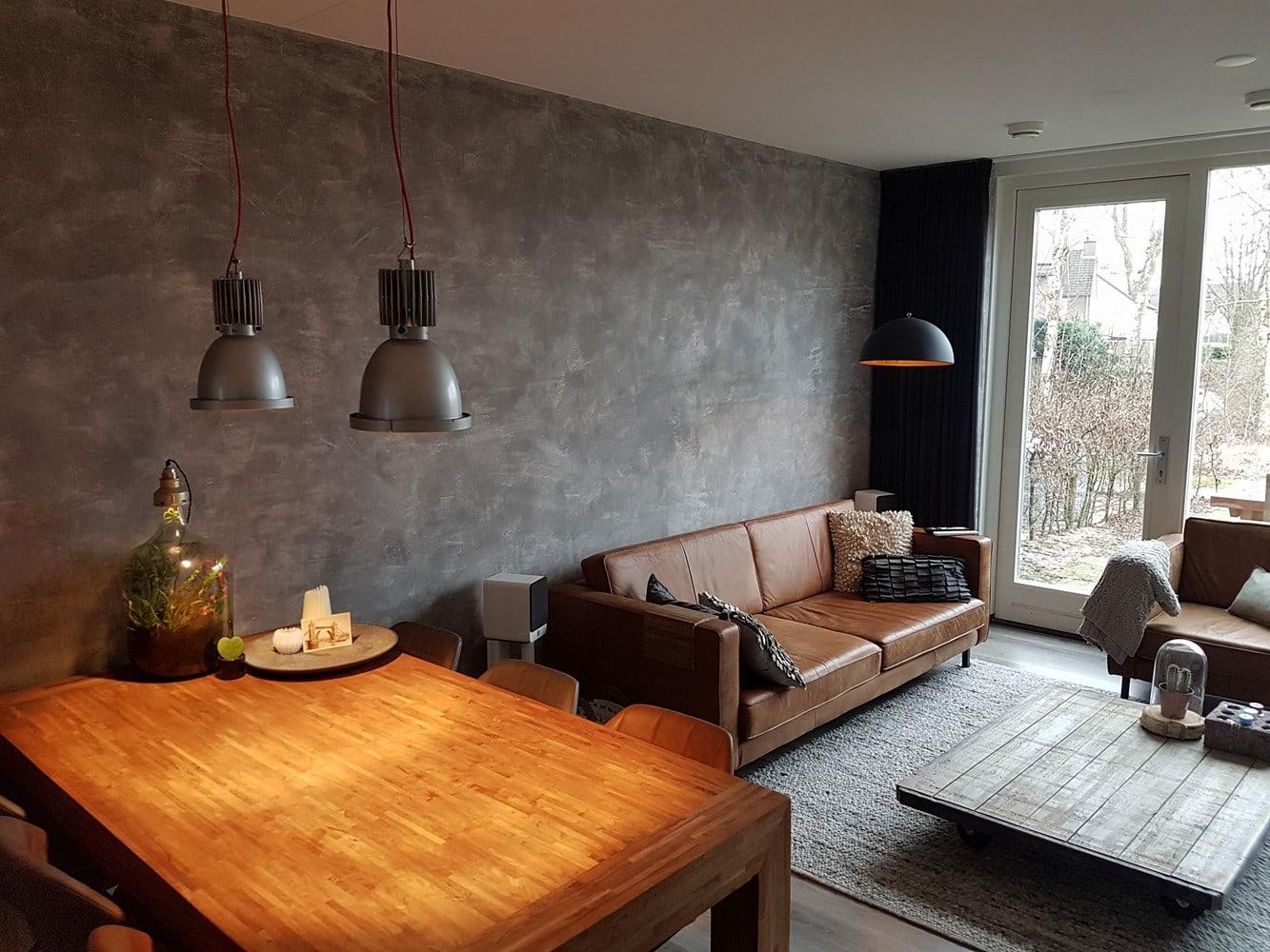 Betonlook badkamer uw wanden en muur van betonlook m v h