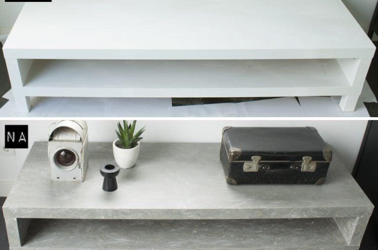 Voor-Na-tv-meubel-betonlook-diy