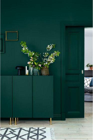 Ken jij deze kleur krijtverf al forest green my for Dark forest green paint