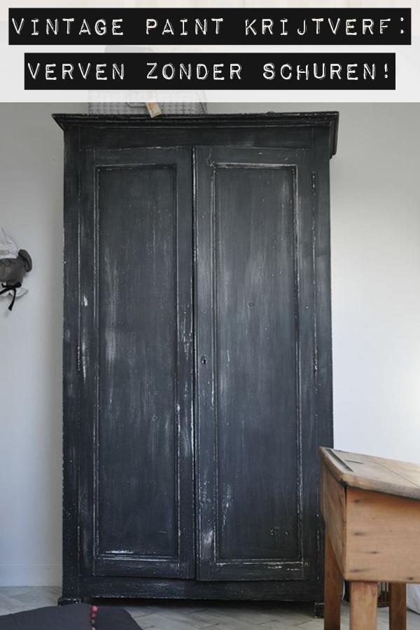 Vintage-paint-Krijtverf-aanbrengen-zonder-schuren