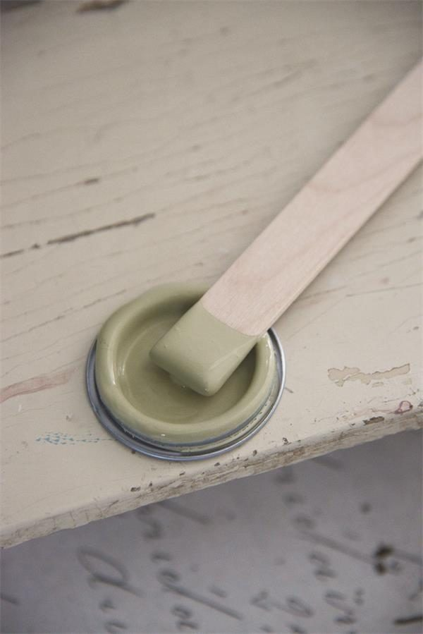 Vintage Paint - Groene Krijtverf Mat - Antique Green - 100 ml