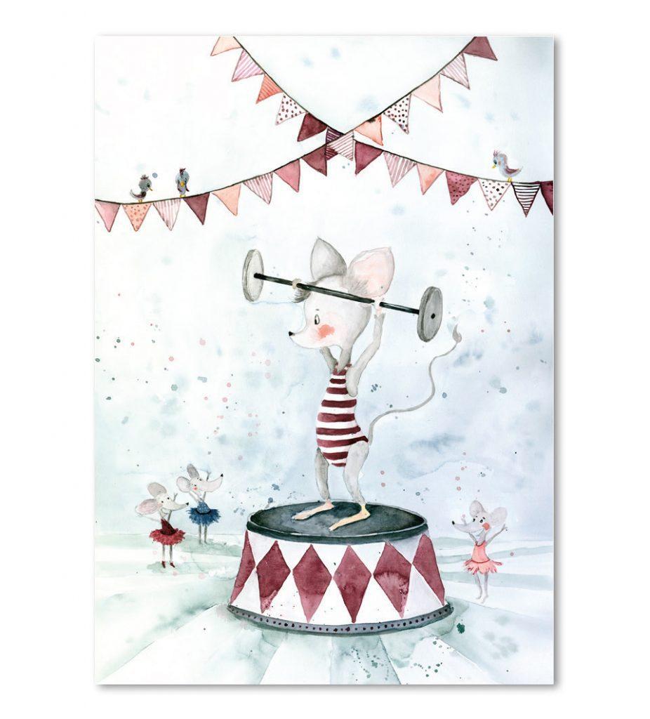 Kaart-Poster-Kinderkamer-Babykamer-stoere-kaarten-posters-Leo_La_Douce_edition_summer