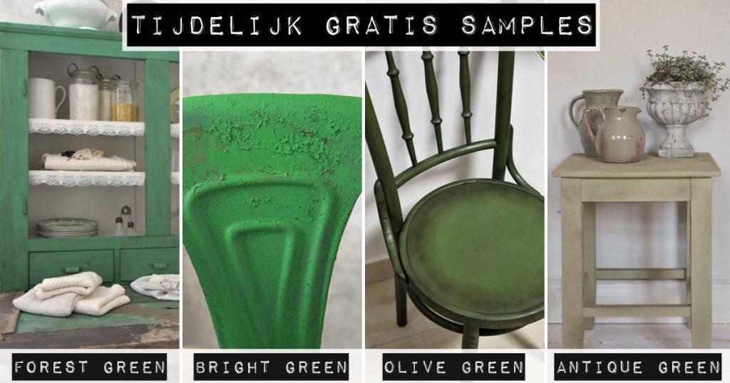 Tijdelijk-gratis-samples-groene-krijtverf