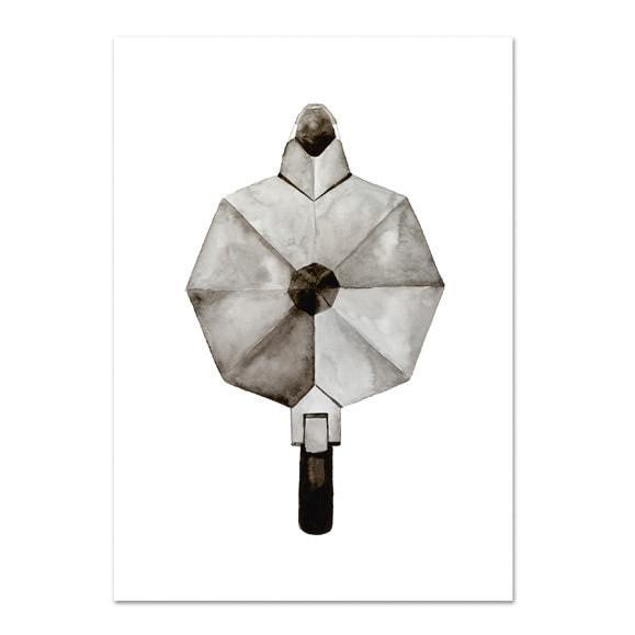 Zwart-wit-kaarten-zwart-wit-posters-Koffiepot-Leo_La_Douce_edition_summer_18-6