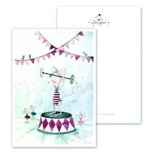 Kaart-Poster-Kinderkamer-Babykamer-stoere-kaarten-posters-Leo_La_Douce_edition_summer_Muscle-Mouse-18-162
