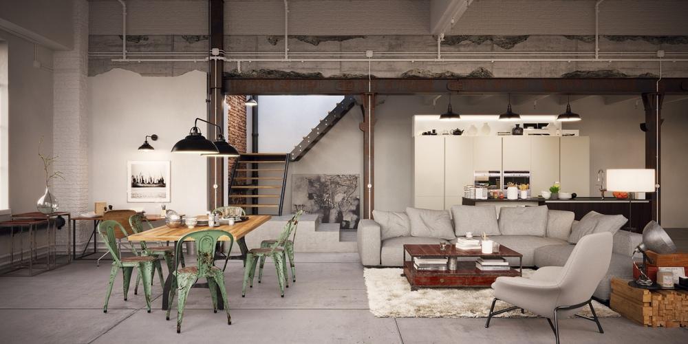 Industriele-loft-industrieel-interieur-spelen-met-kleur