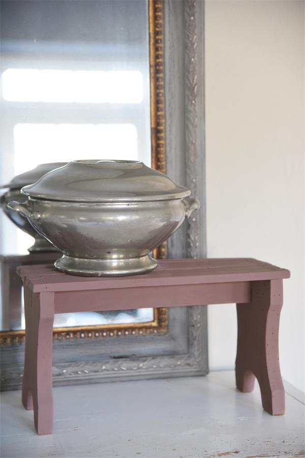 Roze-krijtverf-vintage-powder verven met krijtverf krijtverf aanbrengen kleuren krijtverf