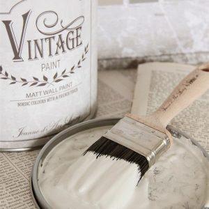 Vintage Paint - Witte / Beige Krijtverf Mat - Warm Cream - 2,5 liter