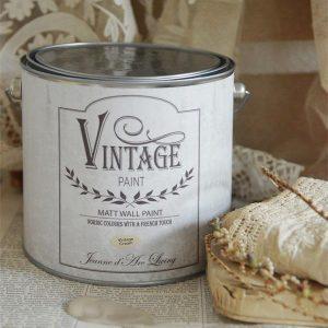 Vintage Paint - Beige Krijtverf Mat - Vintage Cream - 2,5 liter