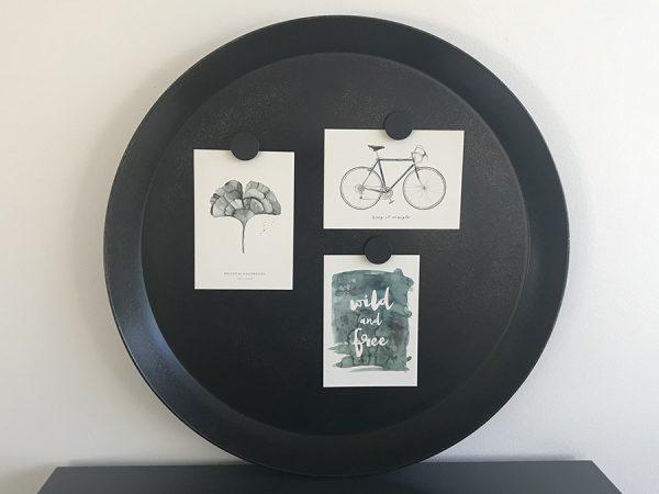 Zwarte-metalen-schaal-metalen-dienblad-klein-sfeer-kaarten