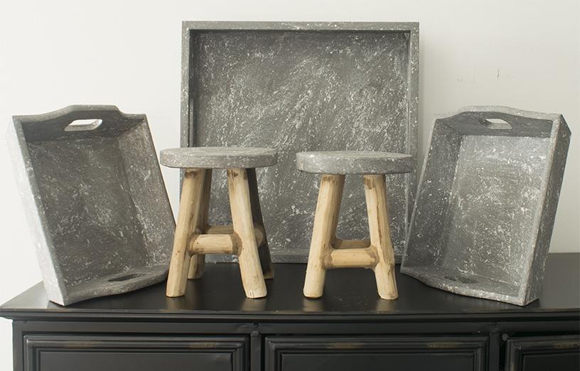 Betonlook-verf-inspiratie-betonlook-meubels-betonlook-dienblad-betonlook-krukje-betonlook-kerstbal-kleur-soft-grey