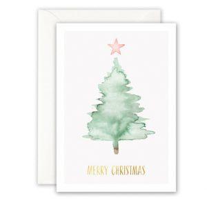 Botanische-posters-kaarten-botanisch-industrieel-interieur-Leo_La_Douce_edition_summer_kerstkaart-groene-kerstboom-2