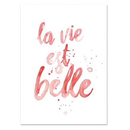 Botanische-posters-kaarten-botanisch-industrieel-interieur-Leo_La_Douce_edition_summer_la-vie-est-belle
