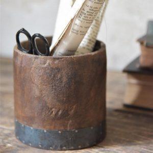 Wooden-jar
