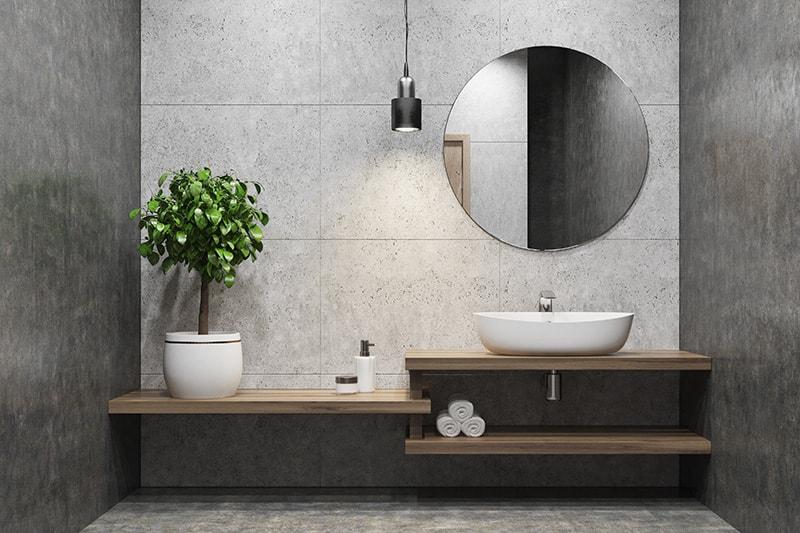Betonlook Tegels Badkamer : Hoe maak je een betonlook badkamer? my industrial interior