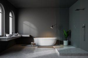 Betonlook Badkamer Maken : Betonlook badkamer betonlook toilet inspiratie my industrial