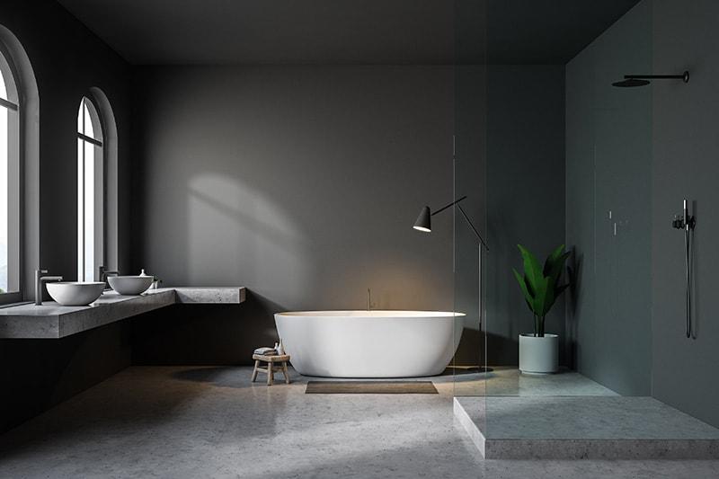 Betonlook Badkamer Muren : Hoe maak je een betonlook badkamer my industrial interior