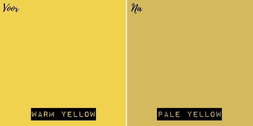 Geel-mengen-kleuren-krijtverf