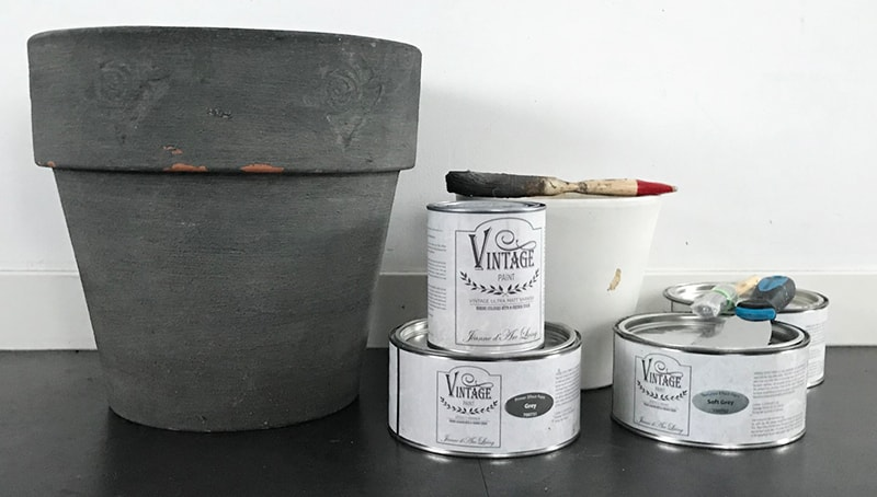 Betonlook-bloempot-DIY-benodigdheden