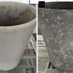 Voor-na-betonlook-bloempot-diy-betonlook-verf-betonlook-verf-aanbrengen