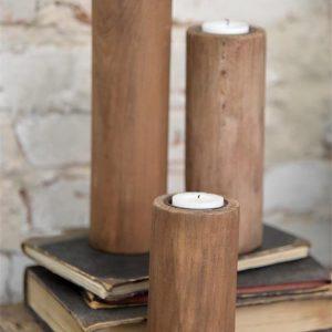 industriele kandelaar houten kandelaars houten kaarsenhouder kaarsenstandaard hout kaarsenhouder hout metalen kandelaar decoratie industrieel
