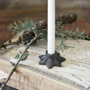 Industriele-kerst-kerstdecoratie-metalen-decoratie-metalen-woonaccessoires-metalen-ster-kaarshouder