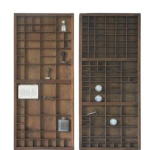 Letterbak-Industriële Decoratie-Large