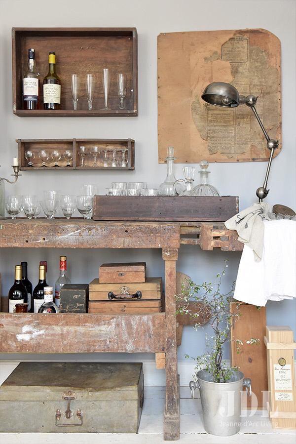 Onwijs Hout in je keuken of woonkamer   My Industrial Interior KA-46