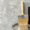 GRATIS handgeverfde sample Betonlook verf-Light Grey-Primer Grijs 5 x 5