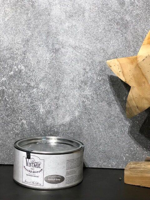 Alles in 1 Pakket-betonlookverf-French Gray