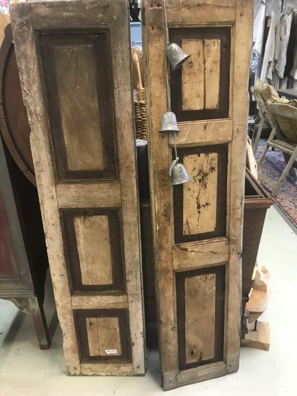 Vintage houten luiken-Jeanne d'Arc Living
