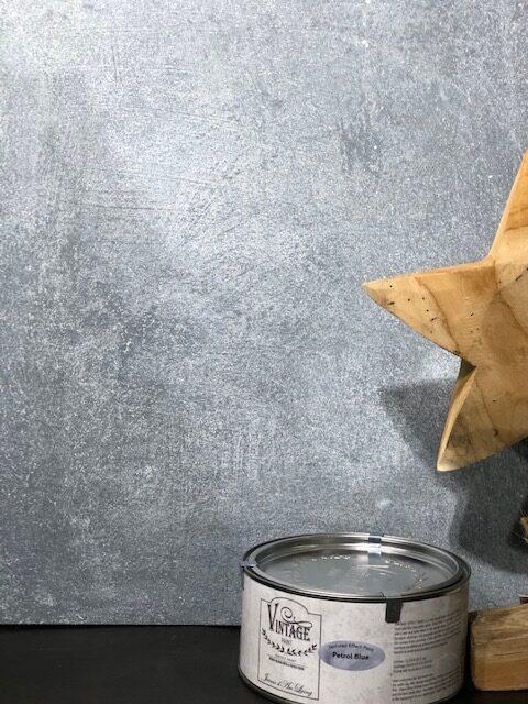 Proefflesje Betonlook verf-100ml-Petrol Blue