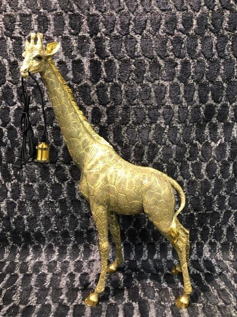 Gouden Giraffe Vloerlamp Large