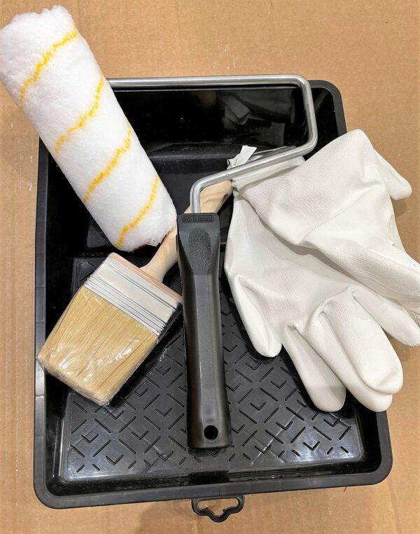 Accessoire pakket voor sauzen van muren