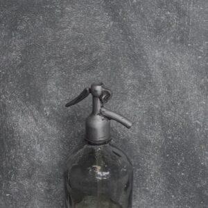 Handgeverfde sample- Antraciet- Primer Kiezel